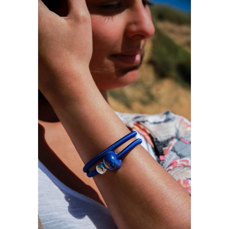 Bracelet modulable perle ceramique