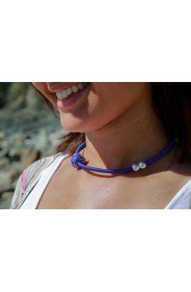 Bracelet modulable collier perle céramique